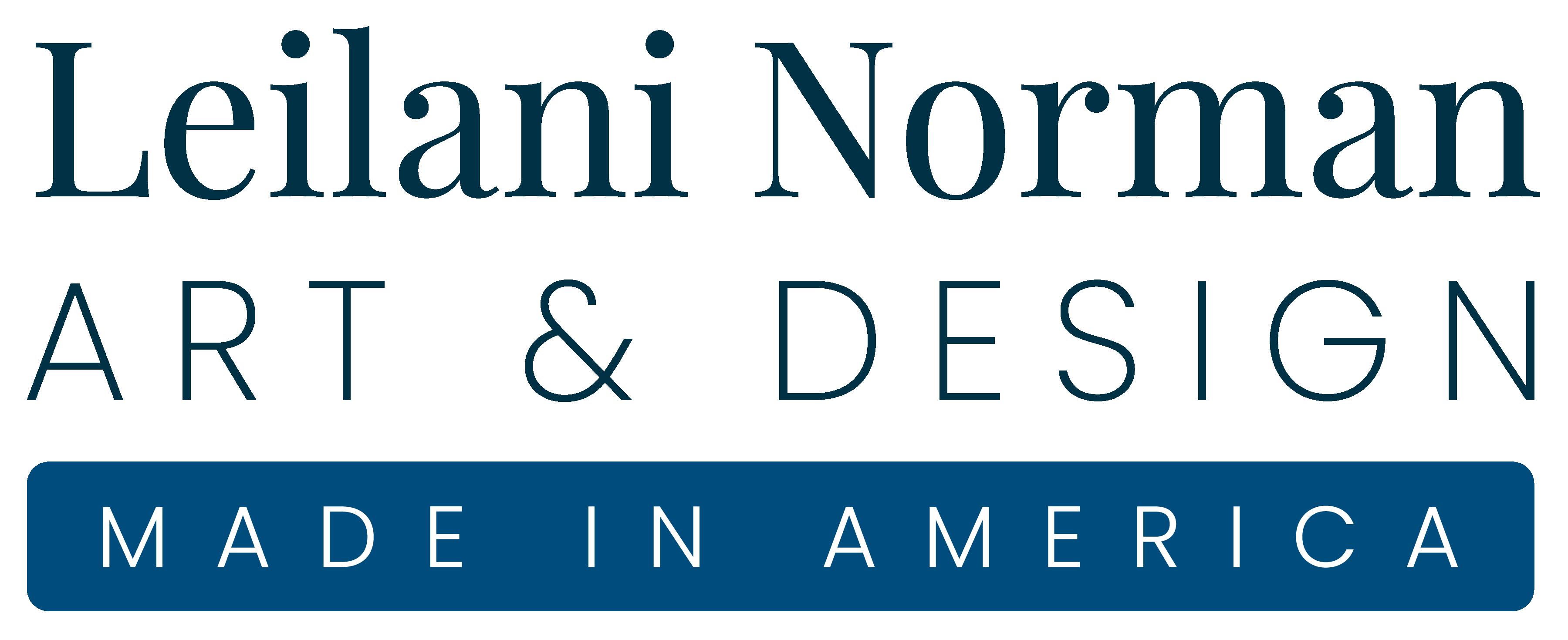 Leilani Norman Art & Design | Made in America